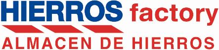 HIERROS factory | Almacén de hierros en Madrid Logo